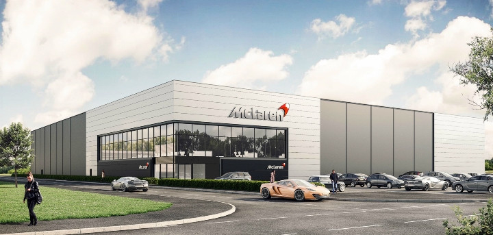 2018 - McLaren Automotive, Yorkshire, UK